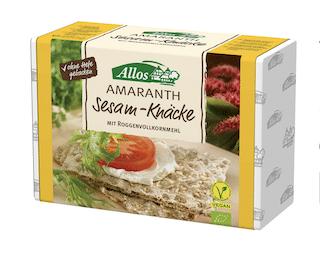Allos Bio Amaranth Sesam-Knäcke