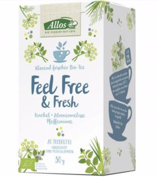 Allos – Feel Free and Fresh Tea – 30g