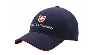 BASEBALL CAP NAVY BLUE SWITZERLAND