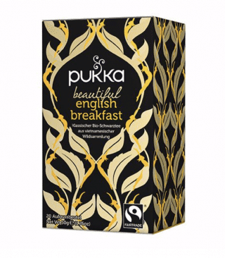 Pukka Beautiful English Breakfast Tee, Bio