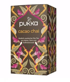 Pukka Cacao Chai Tee, Bio