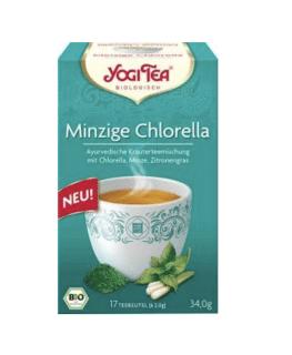 Chlorella Menthe Yogi Tea bio, 17 sachets