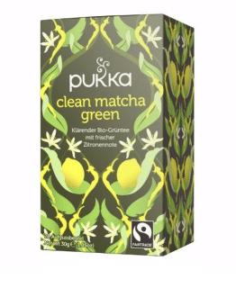 Pukka Clean Matcha Green Tee, Bio