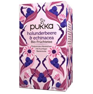 Elderberry & Echinacea Pukka Tea organic