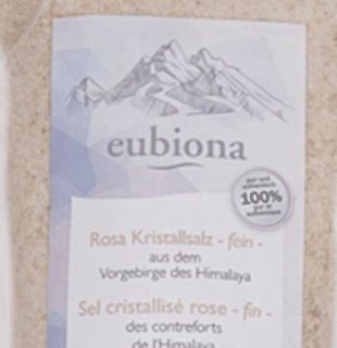 Eubiona Pink Crystal Salt- finely ground