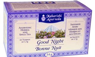 Good Night Tea -Tee Maharishi Ayurveda