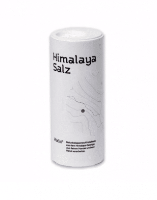 Himalaya Salz, gemahlen