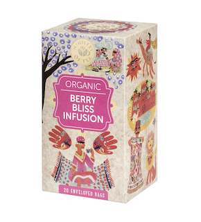 Ministry of Tea Bio Berry Bliss Infusion Tee