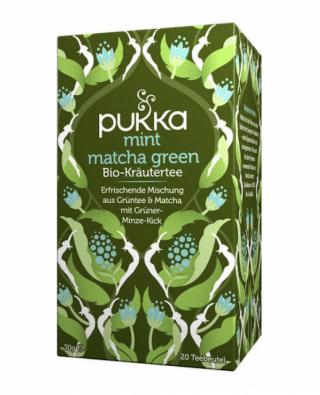 Pukka Mint Matcha Green Tee, Bio