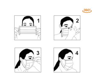 Mundschutz Hygienemaske