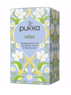 Pukka Relax Tee, Bio