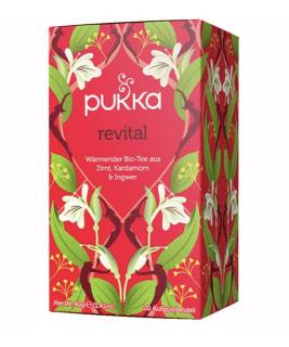 Pukka Revital Tee, Bio