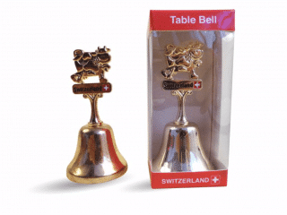 Table Bell Switzerland Souvenirs