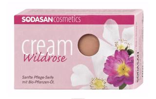 Sodasan Care Soap Cream Wild Rose