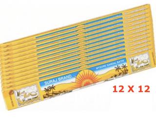 Suraj Sandalwood Incense - Räucherstäbchen Suraj