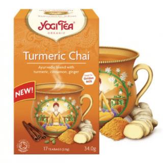 Teebeutel Bio Kurkuma Chai Tee Pack