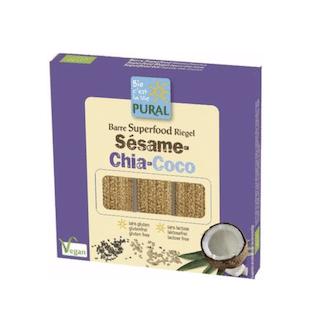 Triopack - Sesam-Chia- Kokos-Riegel