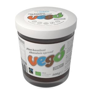 Vego Hazelnut Chocolate Aufstrich Crunchy 200g