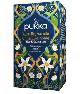 kamille, vanille und Manuka Honig Tee Bio