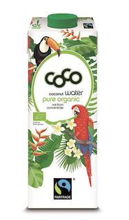 Organic Coconut Water & Coconut Pulp