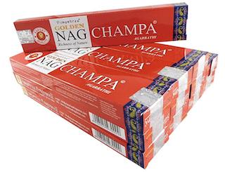 Vijayshree Golden Nag Champa Incense