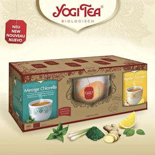 Yogi Tee Geschenk-Set Wohlfühlmomente