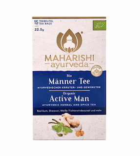 Active Man Tea Maharishi, organic