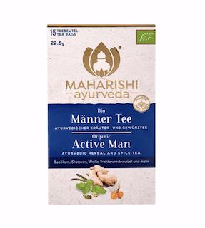 Active Man Tea Maharishi, organic