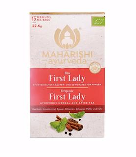 First Lady Tea Maharishi, organic