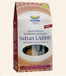 Saffron Laddu organic comfit