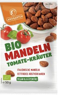 Landgarten Bio Mandeln Tomaten-Kräuter