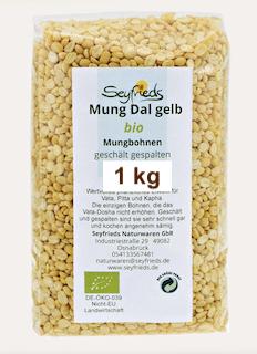 Mung Dal - yellow mung beans