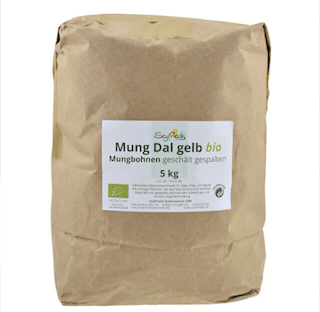 Mung Dal – yellow mung beans