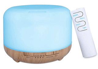 Aroma Diffuser 450 ml Humidifier with Timer – Wood Colour