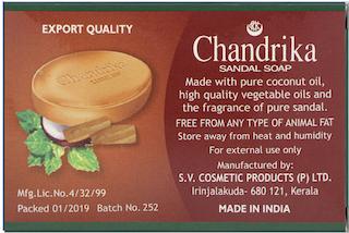 Chandrika Sandal Soap 15 g