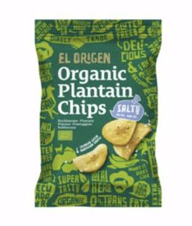 El origen Kochbananen Chips Plantain