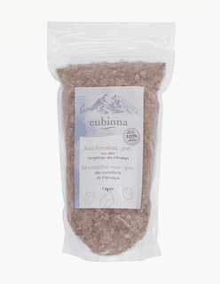 Eubiona Himalaya Salz grob 1kg