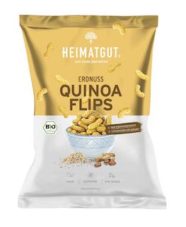 Heimatgut Bio Erdnuss Quinoa Flips