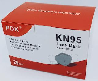 Maschera protettiva KN95 (scatola da 20)