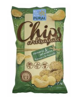 Pural Kartoffelchips Rosmarin & Meersalz