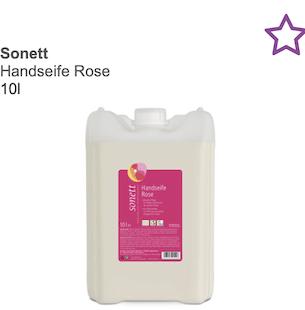 Sonett Handseife Rose 10 L