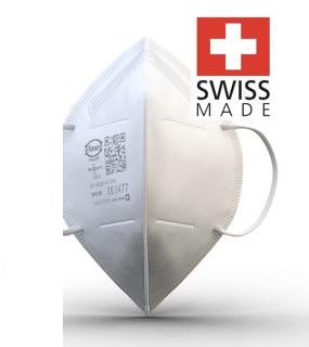 FFP2 Atemschutzmaske MaXpert Swiss Made