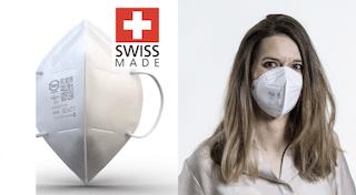FFP2 Atemschutzmaske Swiss Made