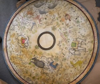 Indian Marble Plate