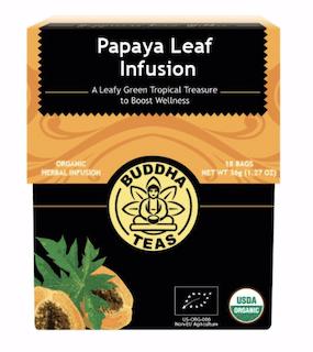 Buddha teas papaya leaf