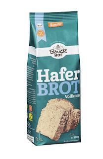 Bauckhof Bio Brotbackmischung Haferbrot, glutenfrei