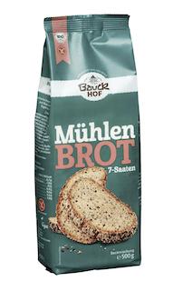 Bauckhof Bio Mühlenbrot, 7-Saaten, glutenfrei