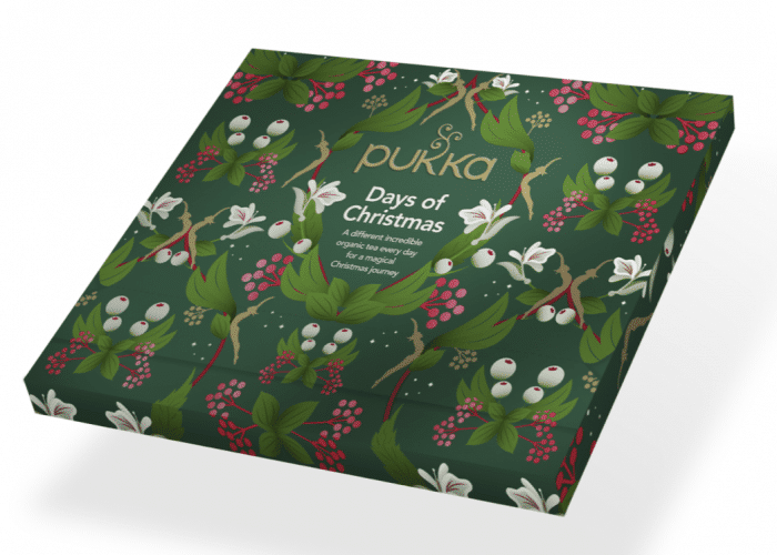 Pukka Advent calendar 2020, 24 single teas