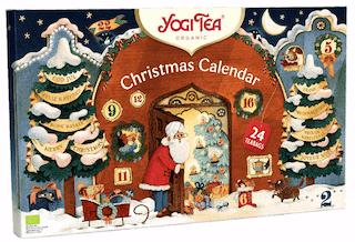 Yogi Tea Calendrier de l'Avent Christmas Calendar 2021
