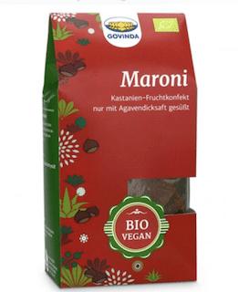 Bio Maroni-Konfekt